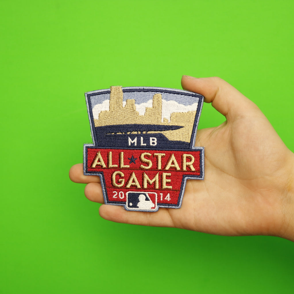 2014 MLB All-star Game Jersey Patch In Minnesota Twins (Target Field)