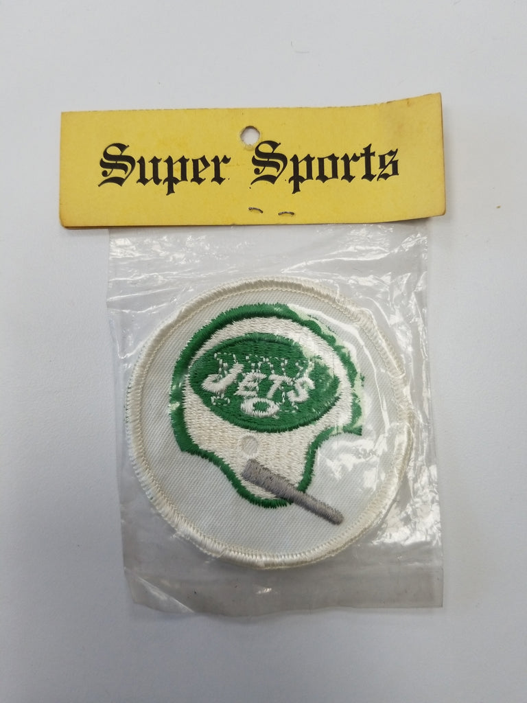 1970'S New York Jets NFL Vintage Round Retro Patch
