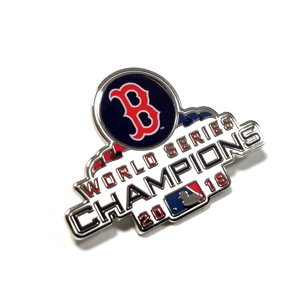 2018 MLB World Series Champions Boston Red Sox Lapel Pin (WINCRAFT)