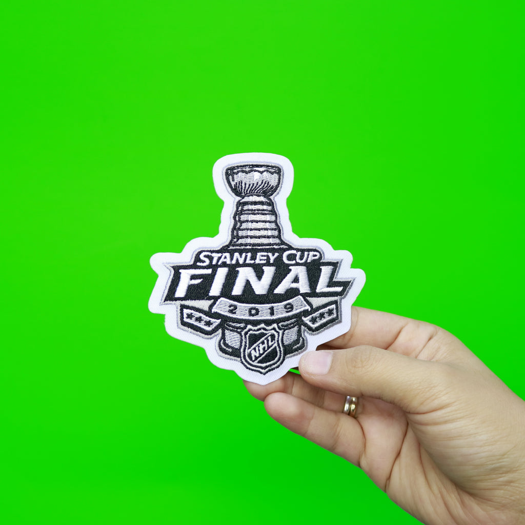 2019 Official NHL Stanley Cup Final Jersey Patch (Boston Bruins St Louis Blues)