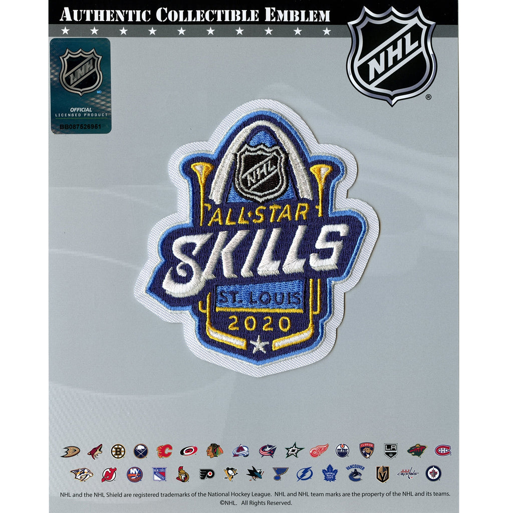 2020 Official NHL All Star Skills St Louis Blues Jersey Patch