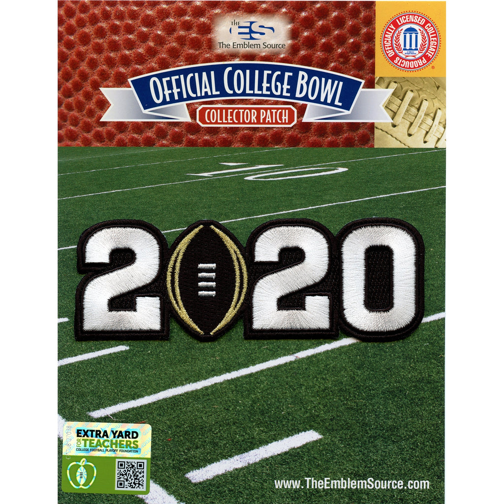2020 College National Championship Game Jersey Patch LSU Clemson
