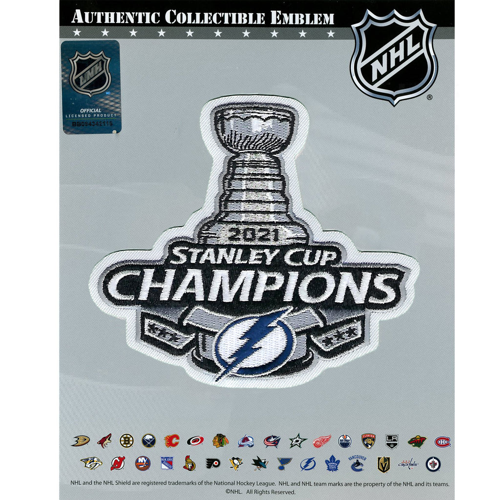 2021 NHL Stanley Cup Final Champions Tampa Bay Lightning ...