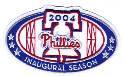 Philadelphia Phillies Citizens Bank Park Stadium Inaugural Patch (2004)