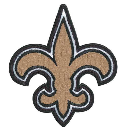 New Orleans Saints Team (Horn) Logo Patch
