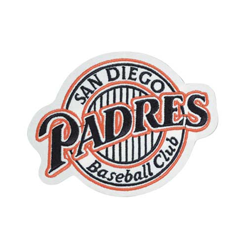 San Diego Padres Throwback Era Patch