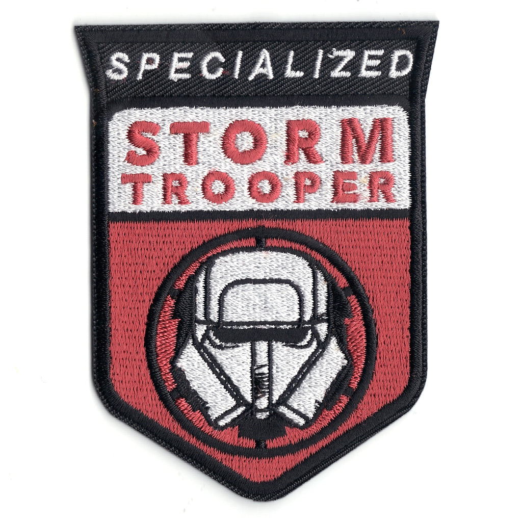 Specialized Stormtrooper Han Solo A Star Wars Story Logo Iron on Patch