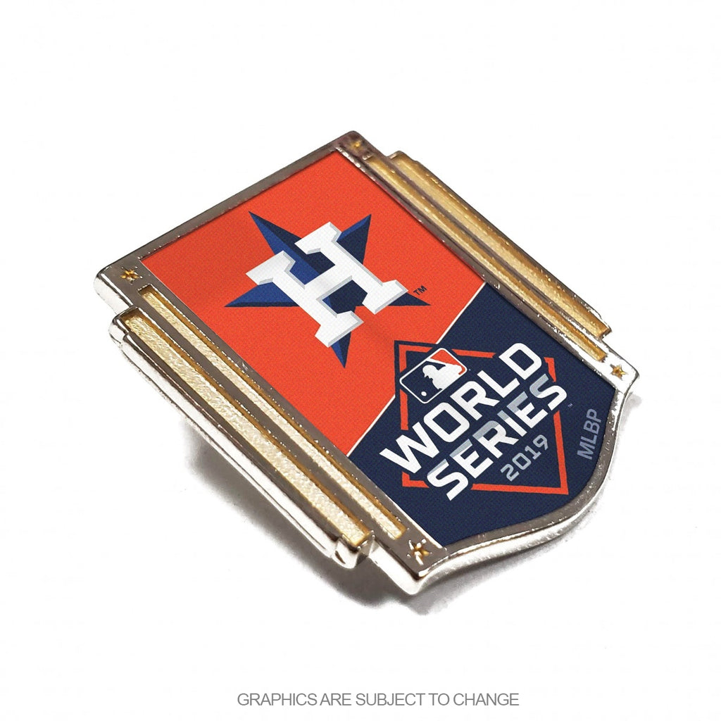2019 World Series American League Participant Collector Pin Houston Astros