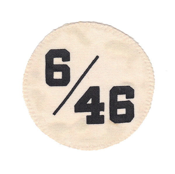 1984 Charlie Lau (#6) & Loren Babe (#46) '6/46' Chicago White Sox Memorial Jersey Sleeve Patch