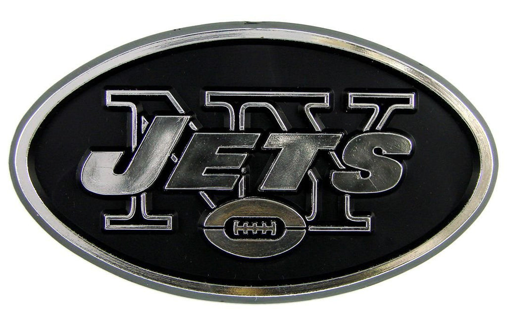 New York Jets Car 3D Chrome Auto Emblem