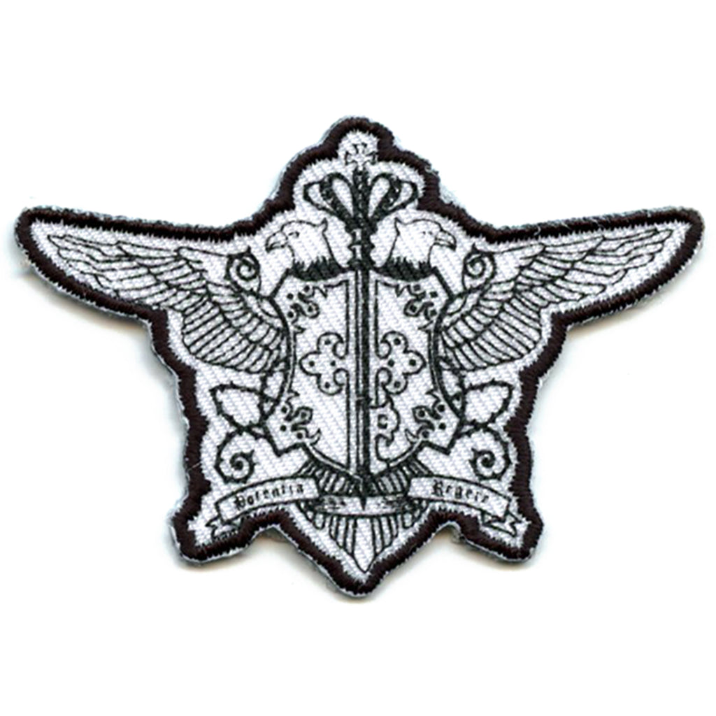 Black Butler Anime Phantomhive Emblem Embroidered Patch
