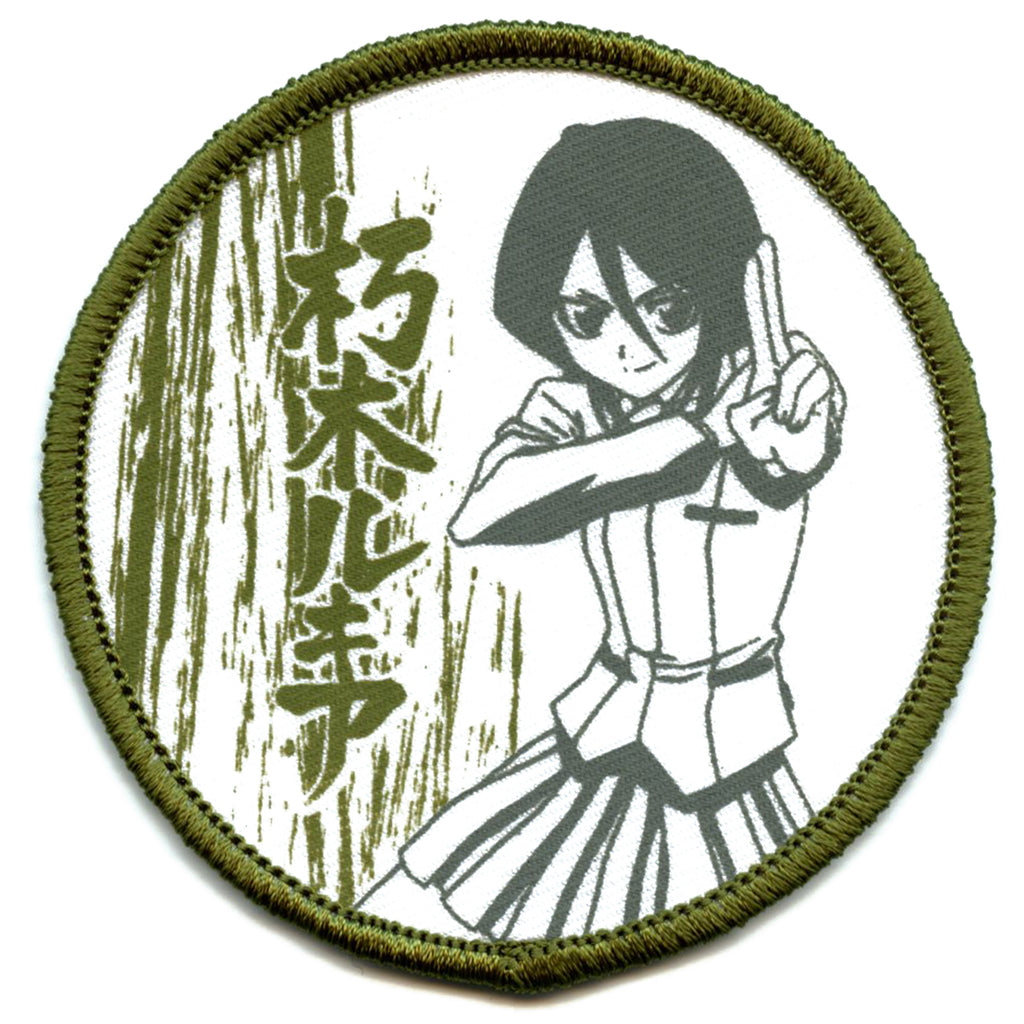 Bleach Anime Rukia Embroidered Patch