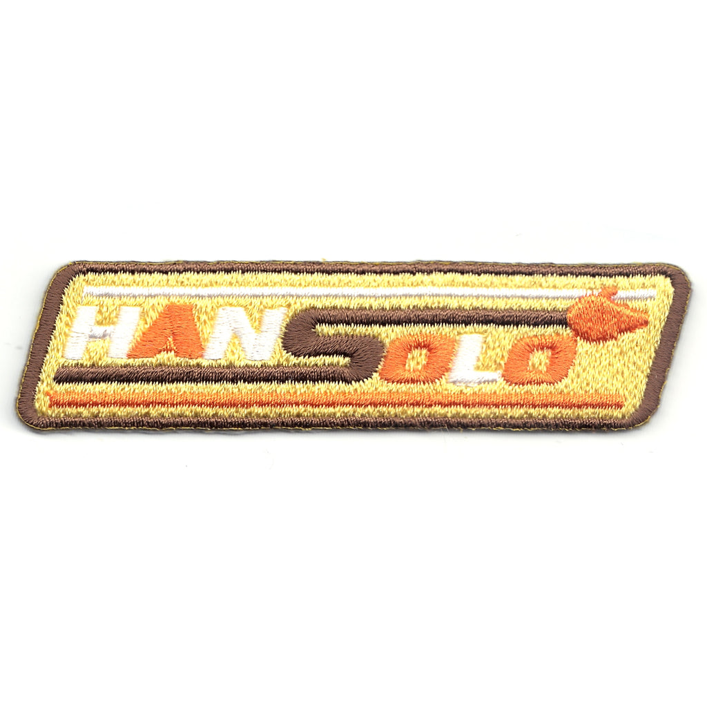 Han Solo A Star Wars Story Box Logo Iron on Patch
