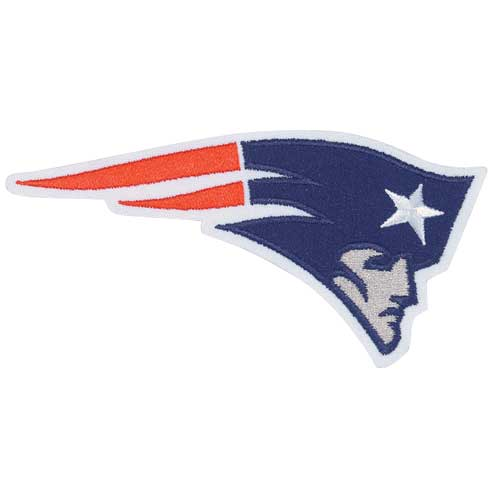 New England Patriots Flying Elvis Patch