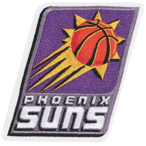 Phoenix Suns Primary Team Logo Patch (2000-2012)