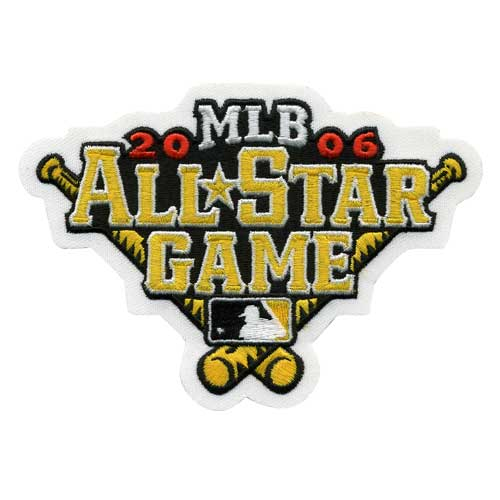 2006 MLB All Star Game Jersey Patch Pittsburgh Pirates