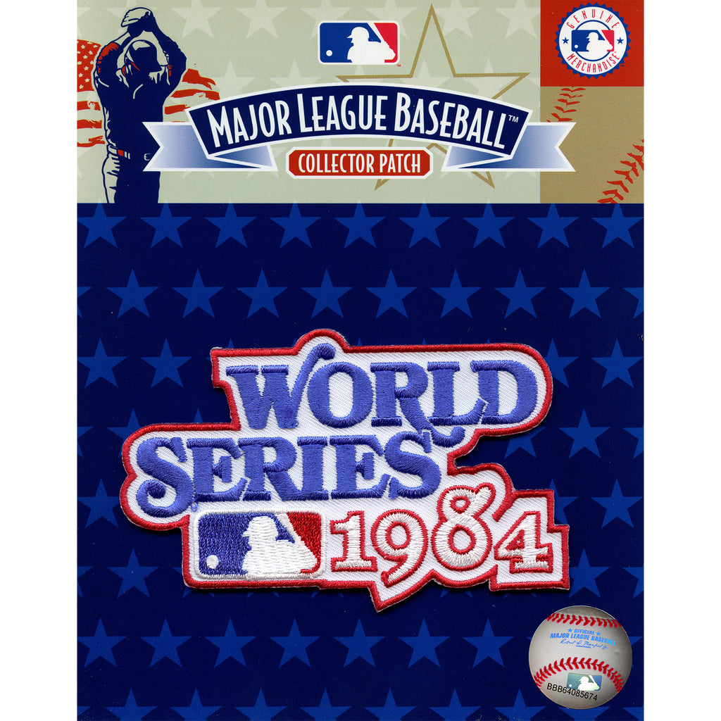 1984 MLB World Series Logo Jersey Patch San Diego Padres vs. Detroit Tigers