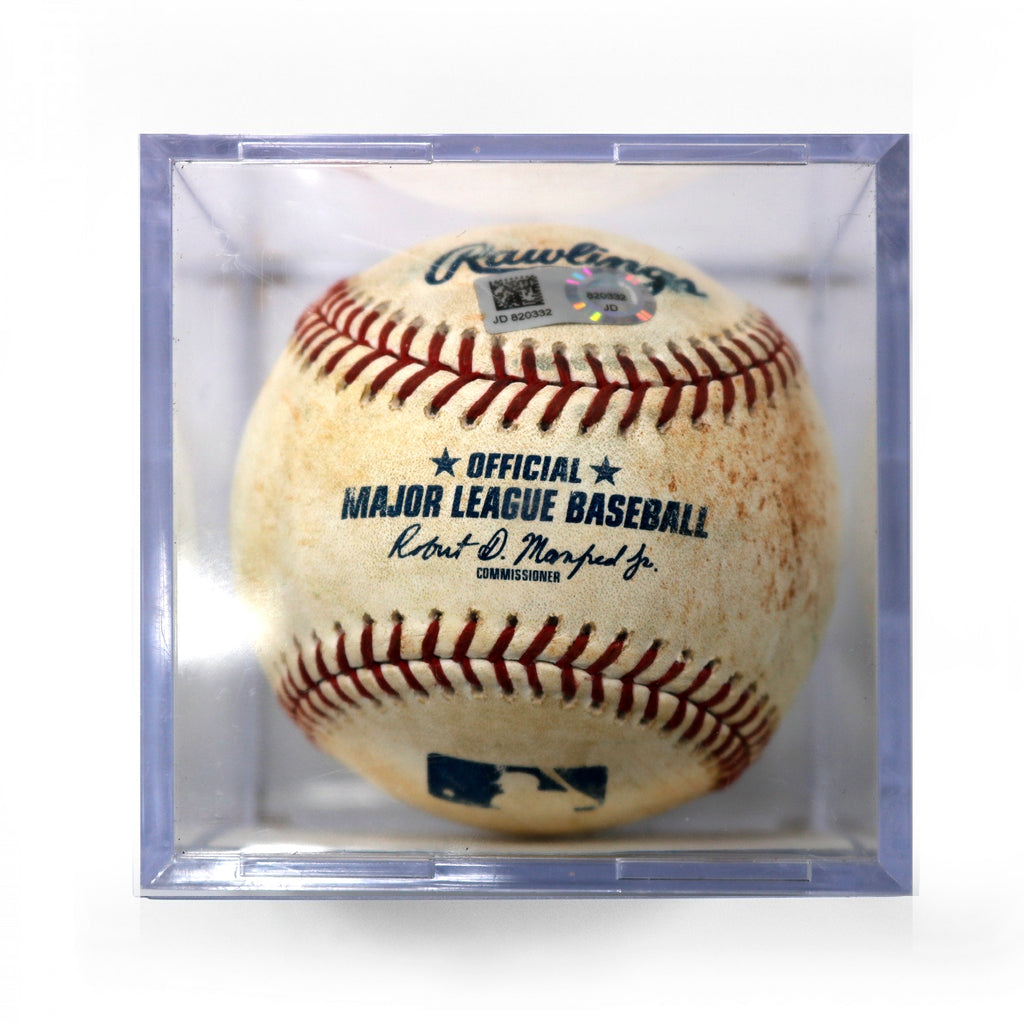 2019 MLB Houston Astros Minute Maid Park Authentic Game Used Baseball Rondon to Heyward