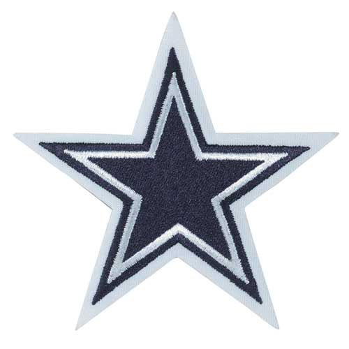 Dallas Cowboys Primary Team Star Logo Jersey Patch