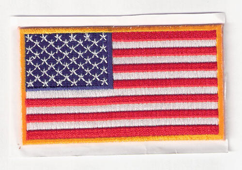 2011 9/11 American Flag MLB Memorial Back Of Jersey Patch