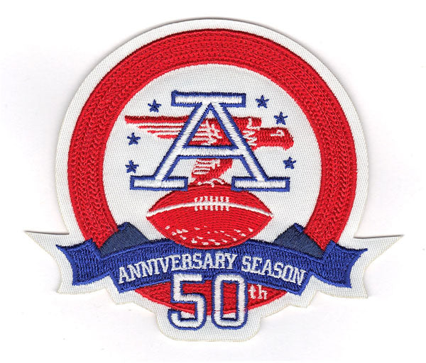 AFL 50th Anniversary Season Jersey Patch (2009)
