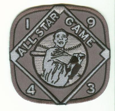 1943 MLB All Star Game Philadelphia Shibe Park Jersey Patch