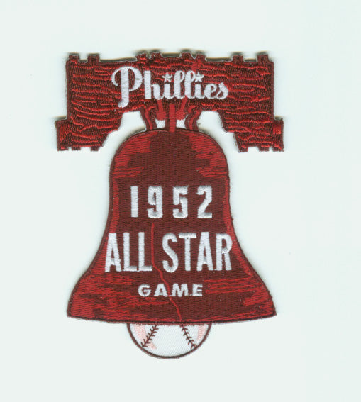 1952 MLB All Star Game Philadelphia Phillies Shibe Park Jersey Patch
