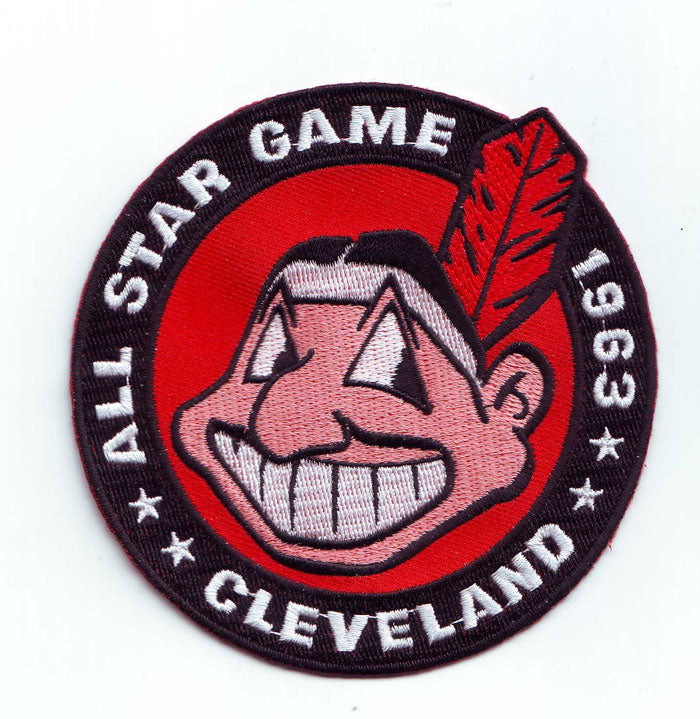 1963 MLB All Star Game Cleveland Indians Municipal Stadium Jersey Patch