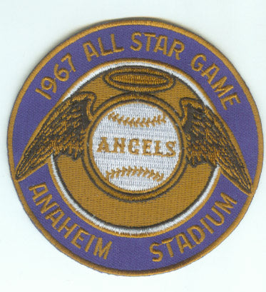 1967 MLB All Star Game Anaheim California Angels Stadium Jersey Patch