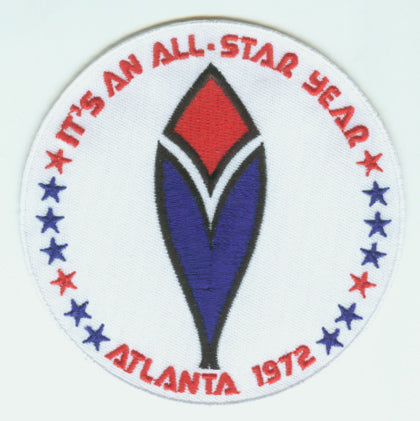 1972 MLB All Star Game Atlanta Braves Fulton County Stadium Jersey Patch