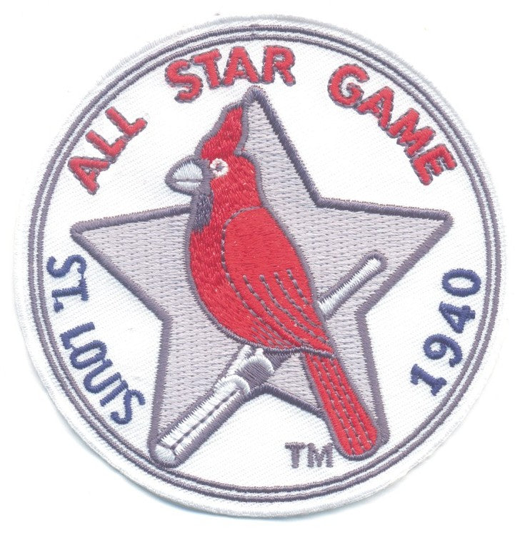 1940 MLB All Star Game St. Louis Cardinals Jersey Patch