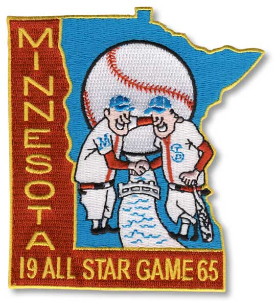 1965 MLB All Star Game Minnesota Twins Metropolitan Stadium Jersey Patch