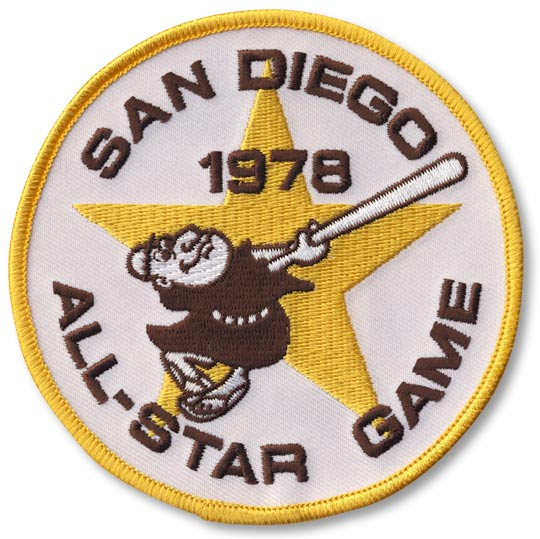 1978 MLB All Star Game San Diego Padres Jersey Patch