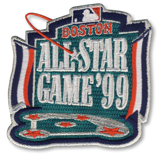 1999 MLB All Star Game Boston Red Sox Jersey Patch