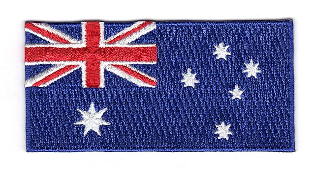 Australia Embroidered Country Flag Patch
