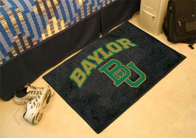 "Baylor Bears University Starter Mat Rectangular Tufted Rug 19"" x 30"""