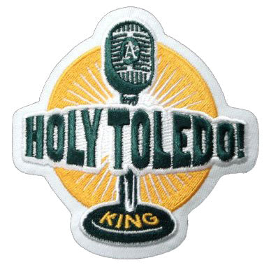 Bill King 'Holy Toledo' Oakland A's Announcer Memorial Sleeve Jersey Patch (2006)