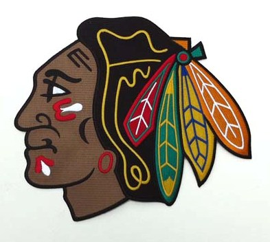 Chicago Blackhawks Large Front Logo Patch