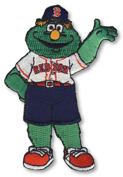 Wally The Green Monster Team Mascot Boston Red Sox Patch