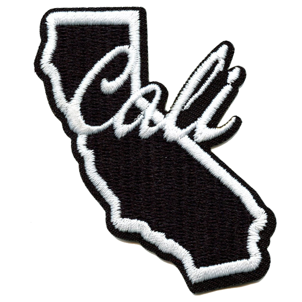 Cali State Script Iron On Patch
