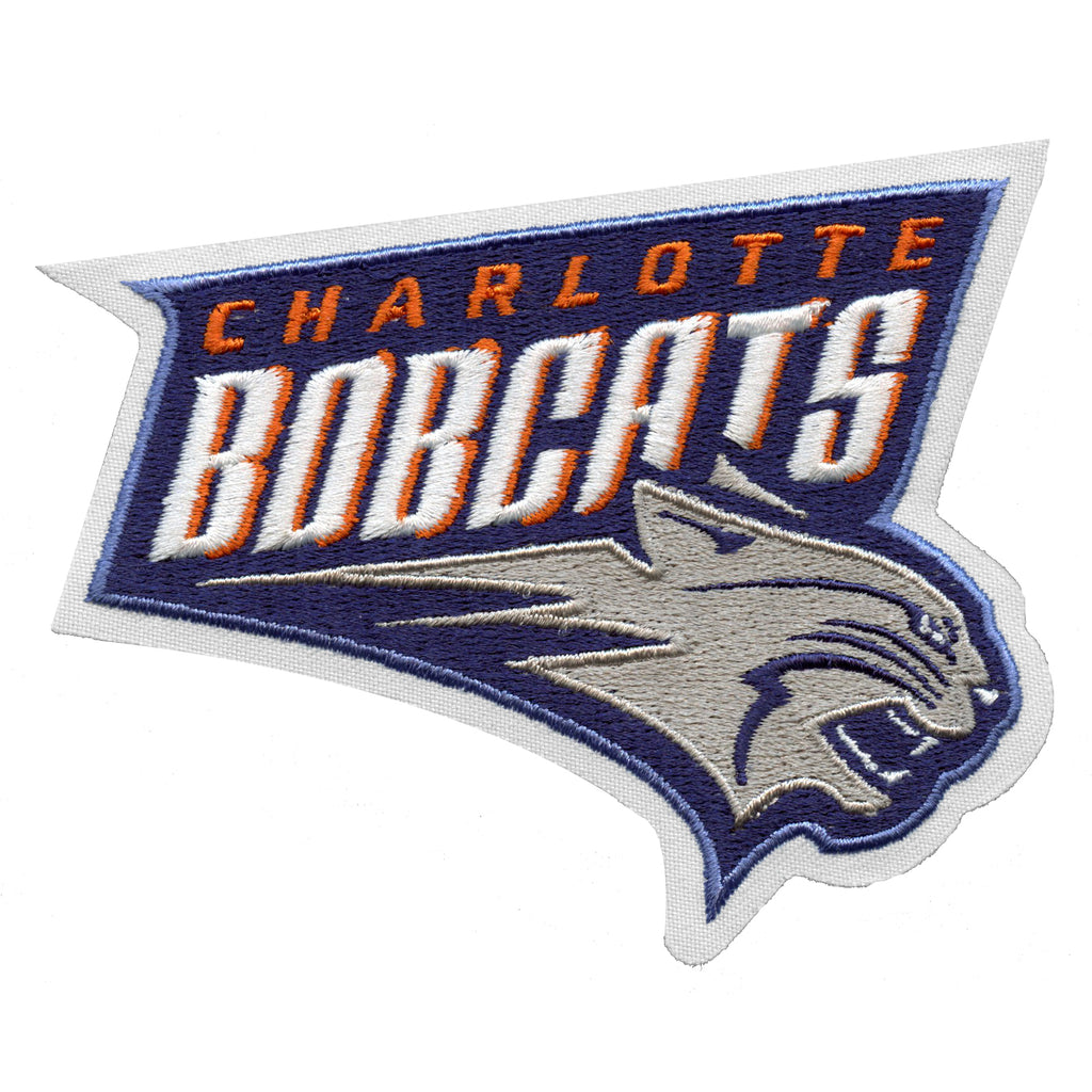 Charlotte Bobcats Primary Team Logo Patch (Retired)