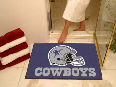 "Dallas Cowboys All-Star Mat Rectangular Tufted Rug 34"" x 44.5"""