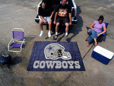 Dallas Cowboys Tailgaiter Mat Rectangular Tufted Rug 5' x 6'