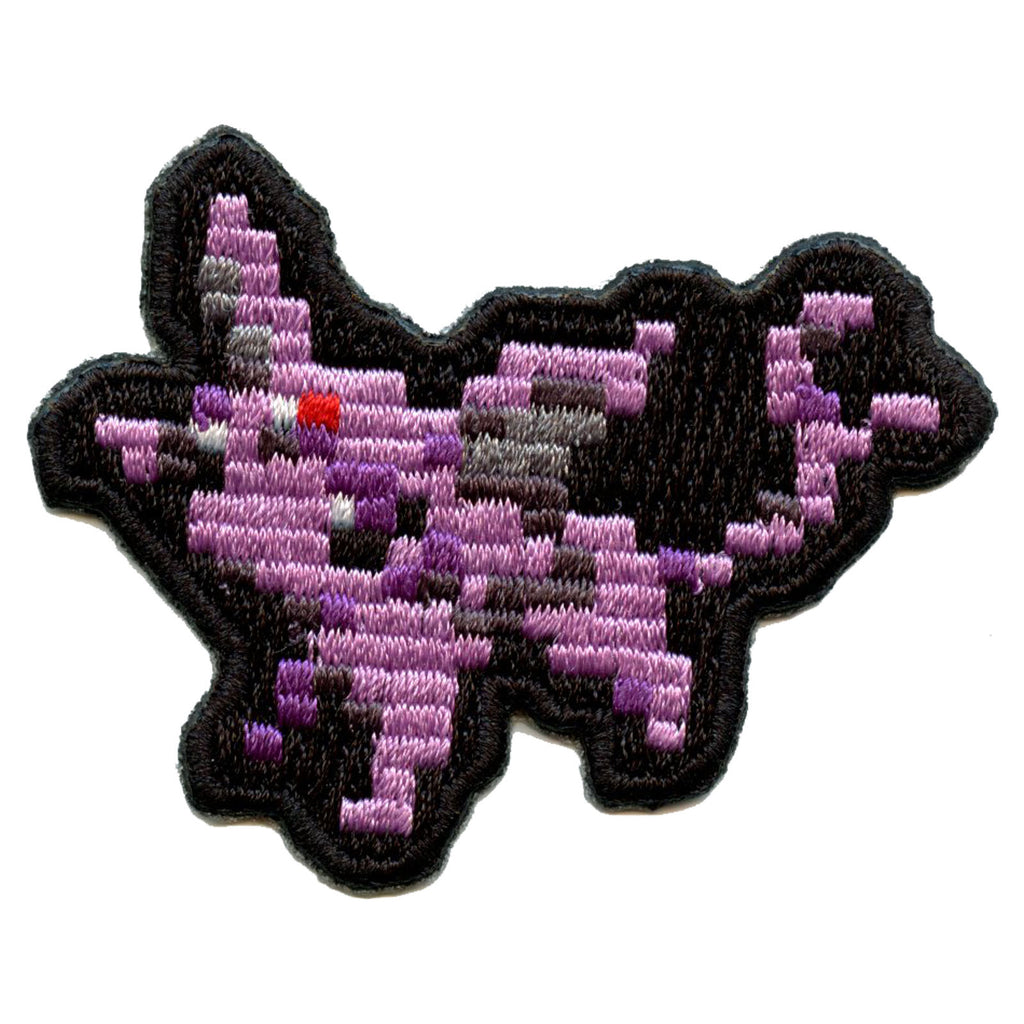 Pokemon Pixel Eevee Evolution Espeon Embroidered Patch