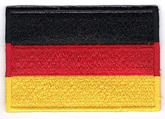 Germany German Embroidered Country Flag Patch