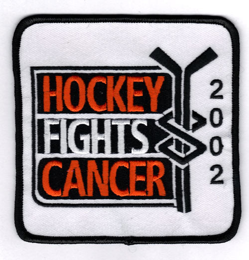 2001-02 NHL 'Hockey Fights Cancer' Patch