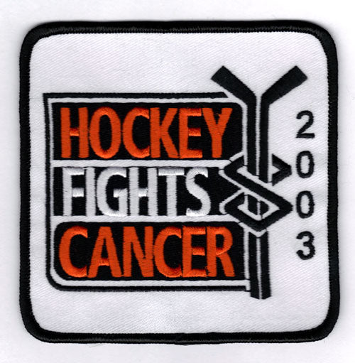2002-03 NHL 'Hockey Fights Cancer' Patch