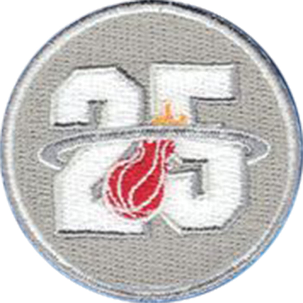 Miami Heat 25th Anniversary Jersey Patch (20012-13)