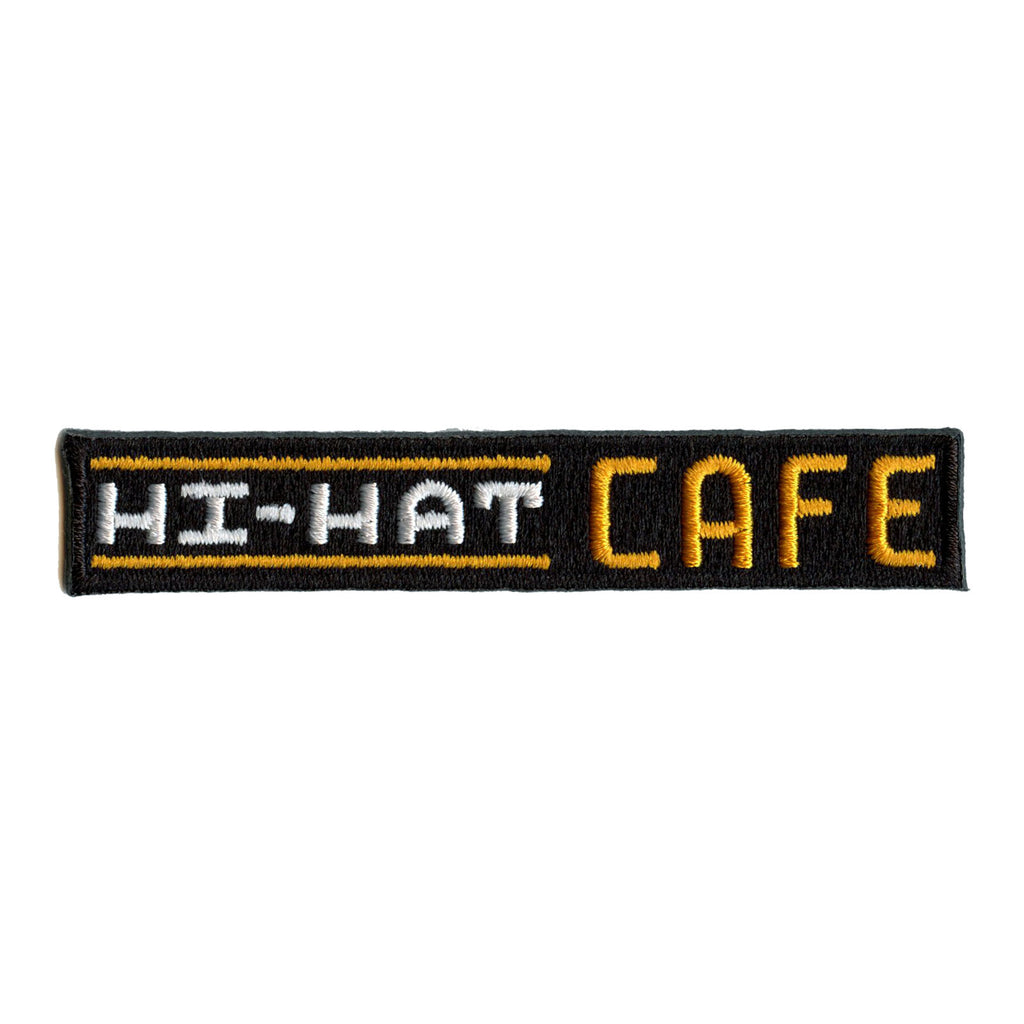 Pokemon Movie Hi-Hat Cafe Sign Embroidered Iron On Patch