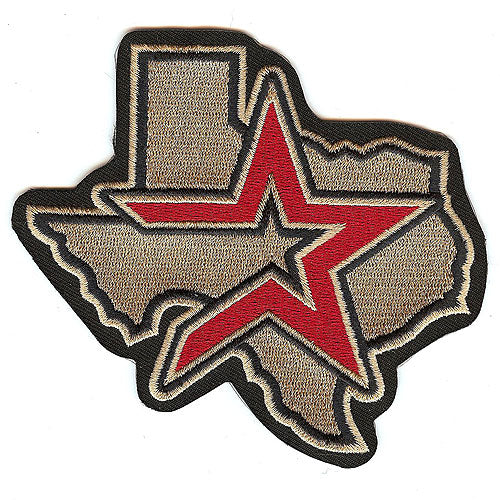 Houston Astros Home & Road Jersey Sleeve Patch (2000 - 2012)